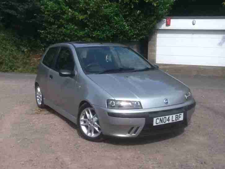 fiat punto 1 2 sporting 2004 low mileage service history long mot. Black Bedroom Furniture Sets. Home Design Ideas
