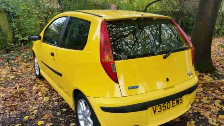 Fiat Punto Sporting 16 valve chipped, fully Loaded alloys rear spoiler skirt kit