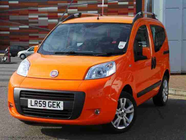 fiat qubo 1 4 8v dynamic 5dr orange car for sale. Black Bedroom Furniture Sets. Home Design Ideas