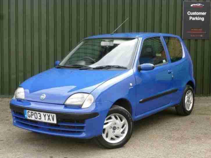 fiat seicento 1 1 active 3dr blue petrol manual 2003 03 car for sale rh bay2car com Fiat Seicento Test GIF Test Fiat Seicento
