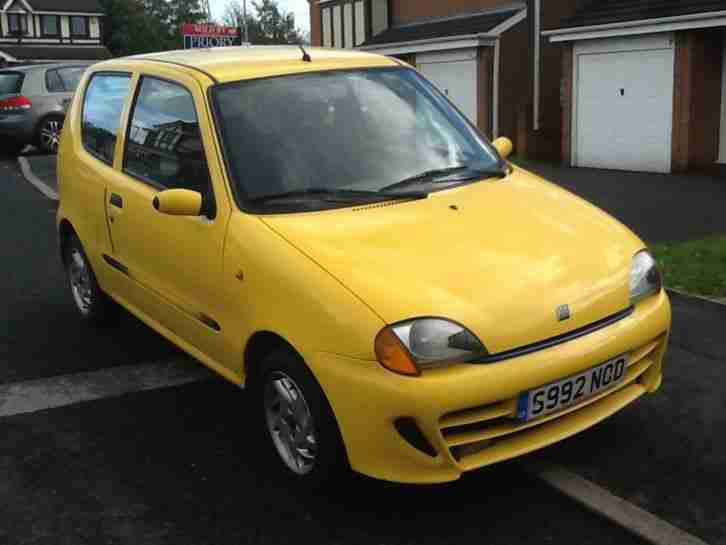 Fiat Seicento Sporting 1.1 left hand drive.