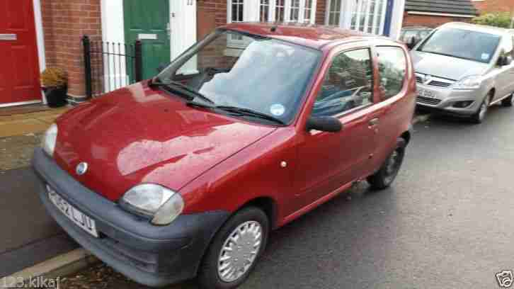 Fiat Seicento low milage nice clean little runer perfect first CAR