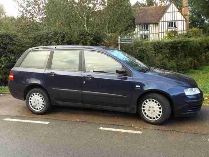 Fiat Stillo 1 6 Active Mulitwagon 5dr 2003 Car For Sale