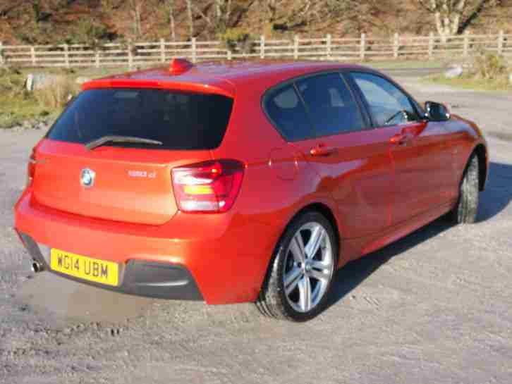 Final reduction. Save £10000 on list. V.high spec 2014 BMW 120D XDRIVE M SPORT