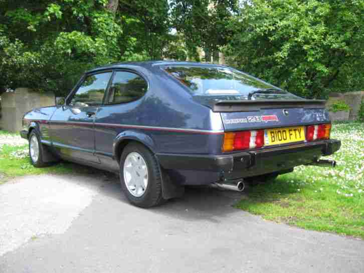 Ford Capri 2 8 Injection Special Car For Sale