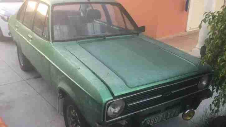 ford escort mk2 1600 sport 4 door car for sale. Black Bedroom Furniture Sets. Home Design Ideas