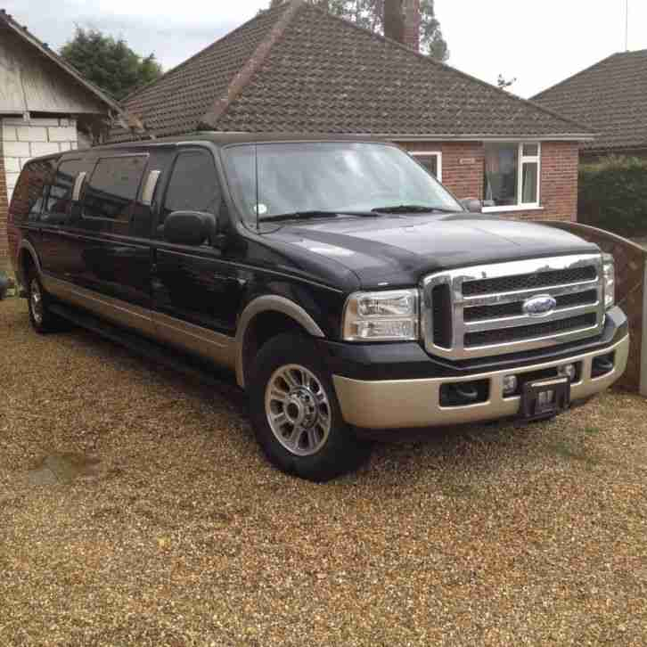 Ford Excursion stretch. Hummer car from United Kingdom