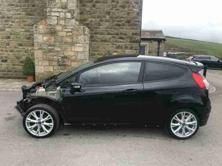 Ford FIESTA 1.5TDCI ZETEC S 2015 (65) DAMAGED REPAIRABLE