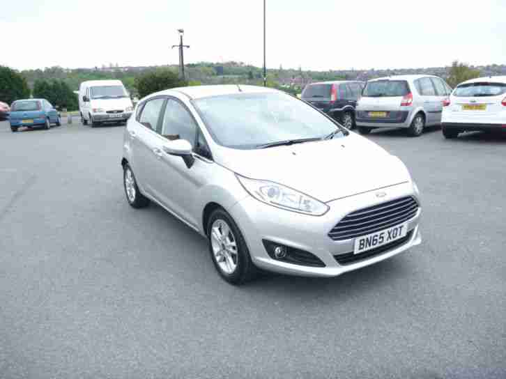 Ford Fiesta 1.0T. Ford car from United Kingdom