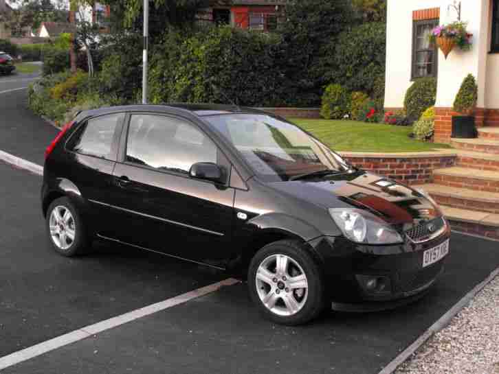 Ford Fiesta 1.2 Zetec 2007 Black Great Condition