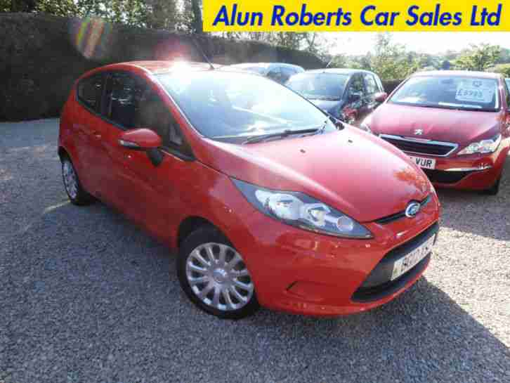 Ford Fiesta 1.25. Ford car from United Kingdom
