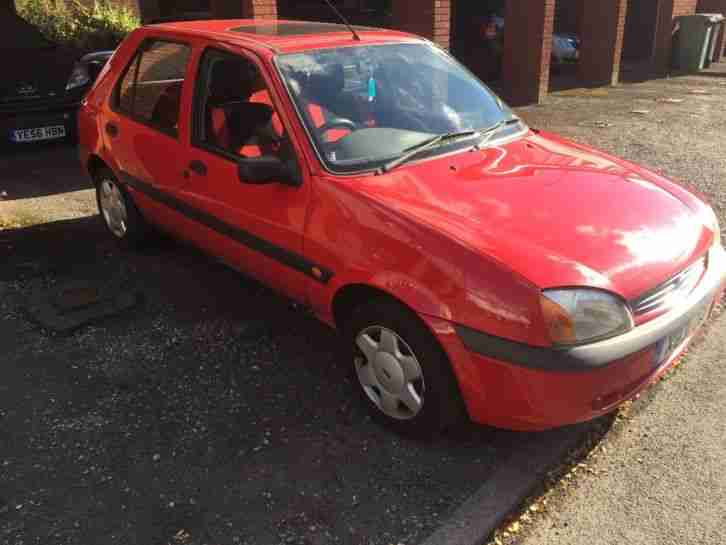 Ford Fiesta 1.3. Ford car from United Kingdom
