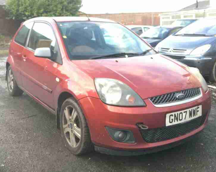 Ford Fiesta 1.4 2007.25MY Zetec Climate Excellent Runner 3dr Bargain Quick Sale