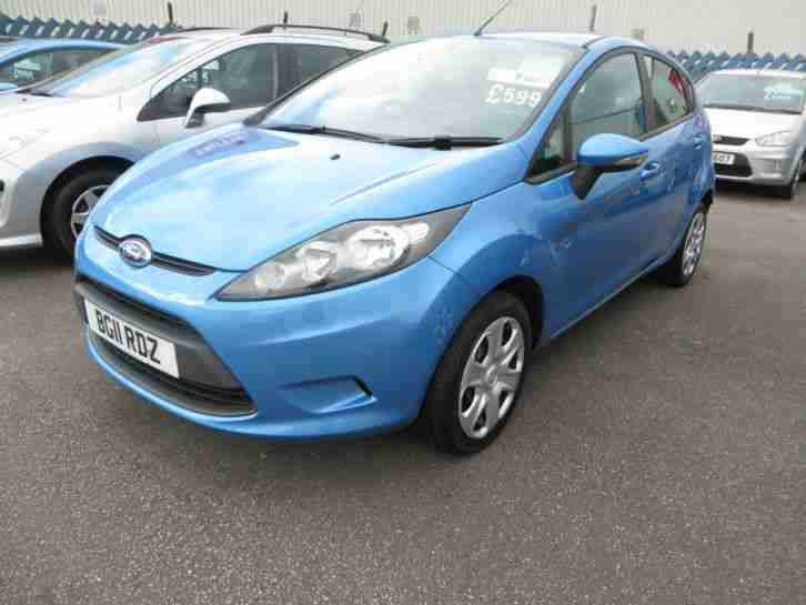 Ford Fiesta 1.4TDCi 2011/11 Edge