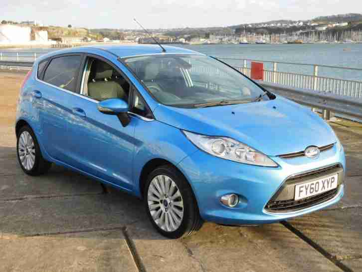 Ford Fiesta 1.6TDCi. Ford car from United Kingdom