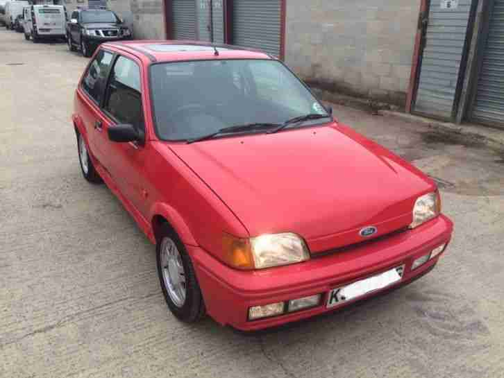 Fiesta RS1800 1993 Only 40365 Miles