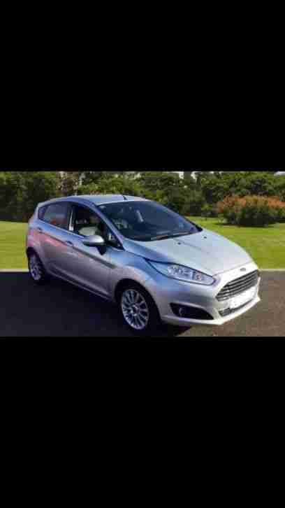 Ford Fiesta titanium. Ford car from United Kingdom