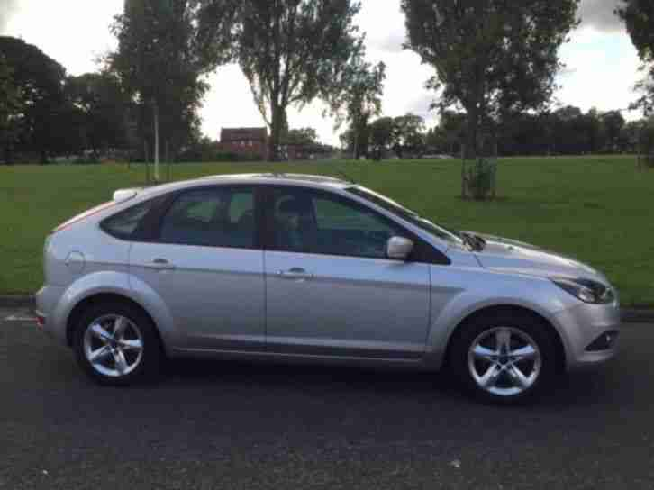 Ford focus 1 6 zetec 2010 60 plate car for sale