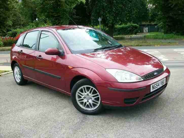 Ford Focus 1.6i. Ford car from United Kingdom