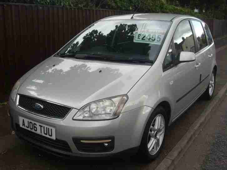 ford focus c max 1 6tdci 90 2006 5my zetec car for sale. Black Bedroom Furniture Sets. Home Design Ideas