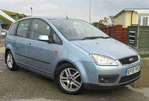ford focus c max 1 6tdci 90 2006 zetec car for sale. Black Bedroom Furniture Sets. Home Design Ideas
