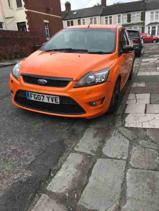 Focus ST 225 Electric Orange