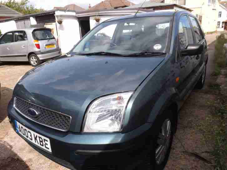 ford fusion 1 6 2003 3 please call 01202 301308 car for sale. Black Bedroom Furniture Sets. Home Design Ideas