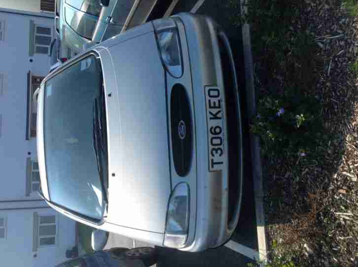 Ford Galaxy 1.9TDI Zetec 7 Seater MPV in Silver 110bhp MOT Cheap Spares repairs