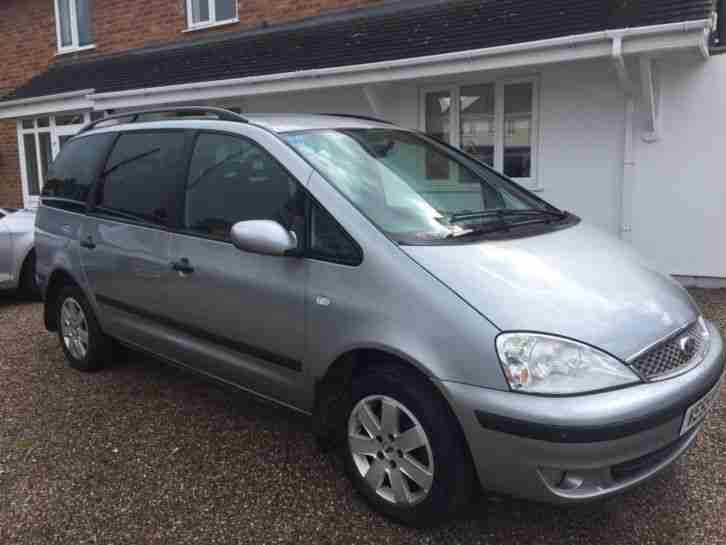 Ford Galaxy1.9tdi,55 reg,152k,full history,recent clutch,5 18 mot