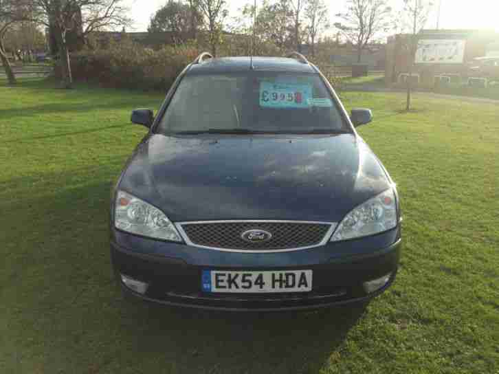 Ford Mondeo 2.0 Ghia X ESTATE WITH FULL LEATHER & OCTOBER 2015 MOT