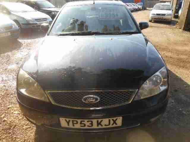 Ford Mondeo 2.5 auto 2003 Ghia X Black Tan Leather