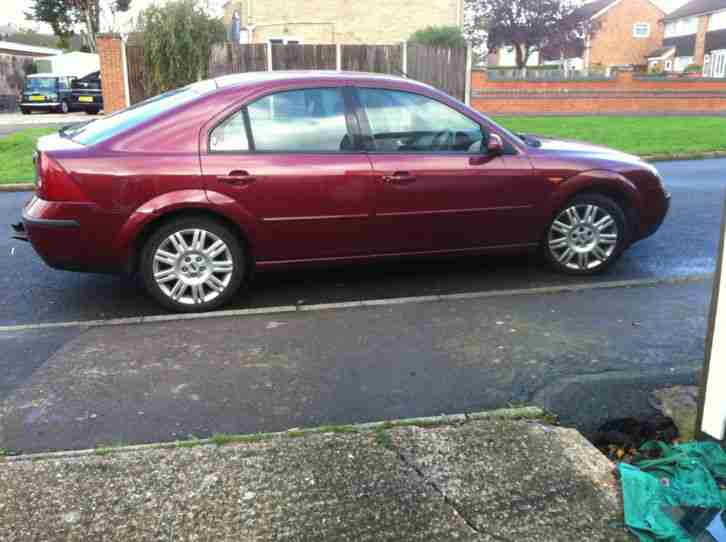 Ford Mondeo, 2002 (02), Manual Diesel, Ghia X TDDI
