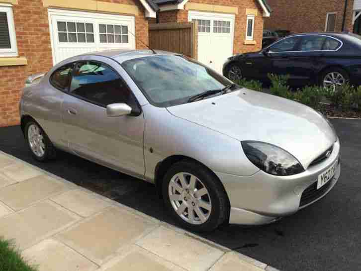 Ford Puma 1.6 Zetec SE silver 12 Months MOT Very Good Condition Lots of History
