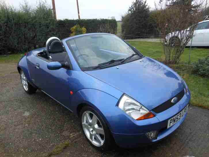 ford streetka car for sale. Black Bedroom Furniture Sets. Home Design Ideas
