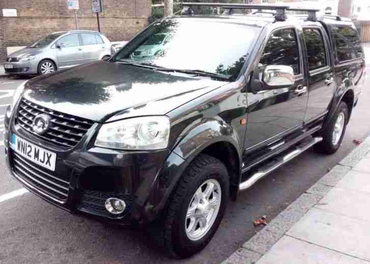GREAT WALL STEED 2.0TD SE NO VAT LOW MILEAGE