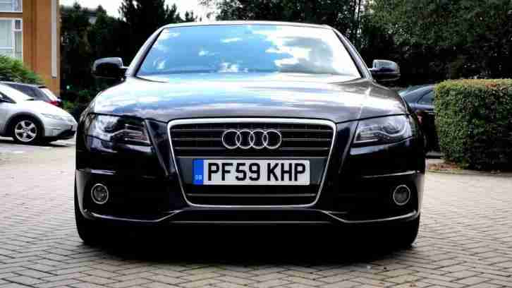 GREY AUDI A4 2.0 TDI S LINE SPECIAL EDITION 2010 AUTOMATIC REMAPPED ALLOYS PX