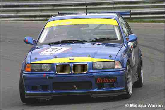 GTS Motorsport built BMW M3 Evo 2 Race Car