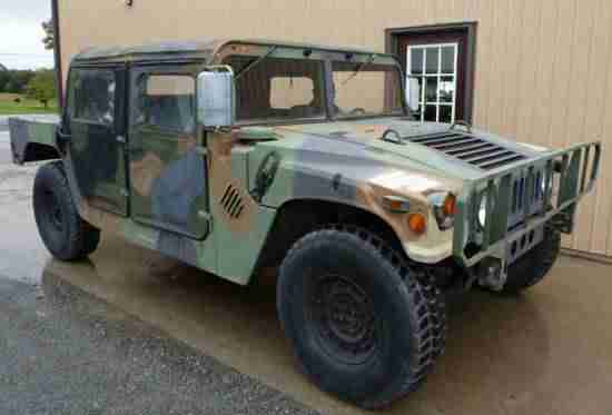 H1 Hummer Military Humvee Left Hand Drive Supplied With U.K Registration & MOT