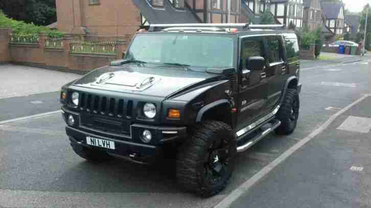 Hummer H2 Low. Hummer car from United Kingdom