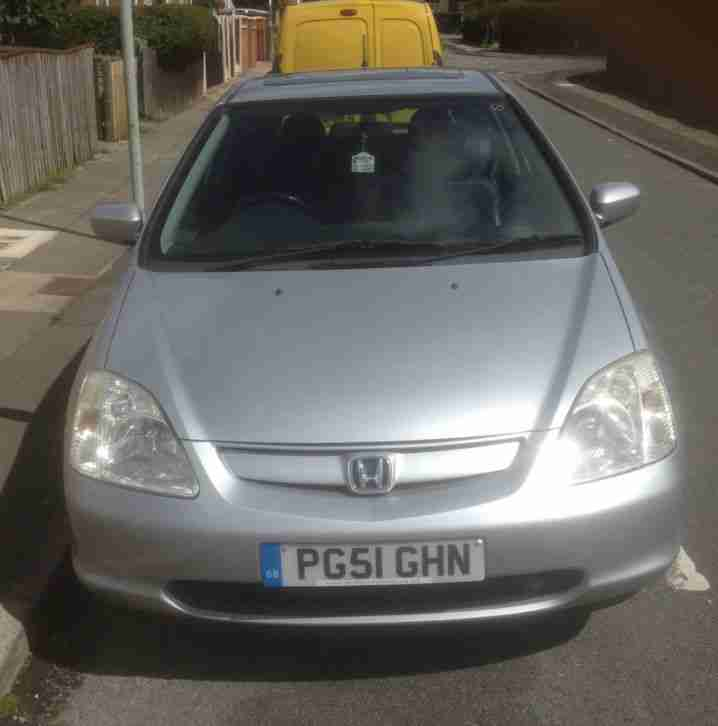 Honda Civic 2002 Excelent Body And Engine Car For Sale