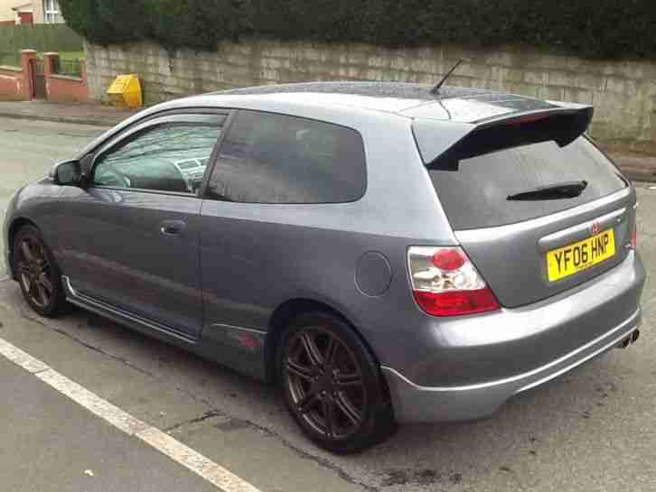 HONDA CIVIC TYPE R (2006) PREMIER EDITION COSMIC GREY LOW MILES FSH CHERISHED