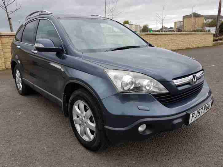 Honda CR V. Honda car from United Kingdom