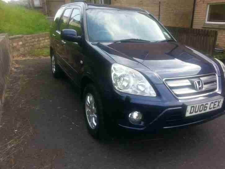 HONDA CR-V 2006 2.2 i-CTDi EXECUTIVE - SATNAV, LEATHER OR SWAP FOR VAN