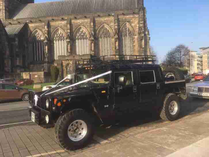 HUMMER H1 6.5 V8 TURBO DIESEL D CAB PICK UP SPORT AUTO LEFT HAND DRIVE LHD