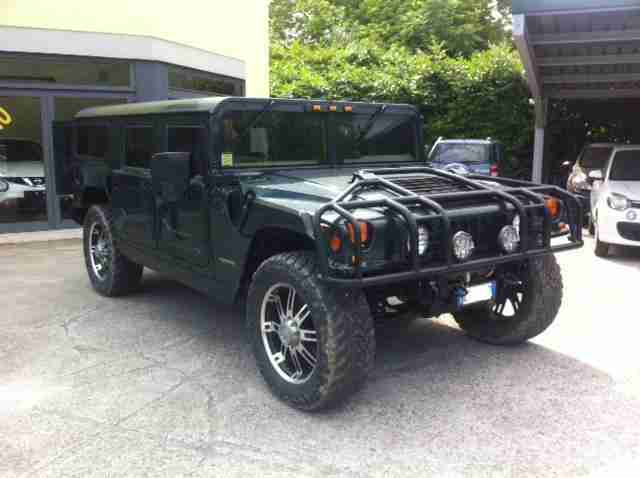 HUMMER H1 BESPOKE VERY RARE ROAD LEGAL FULLY RESTORED LUXURY FINISHING PX