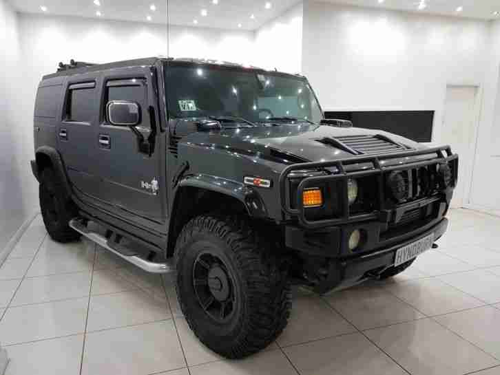 HUMMER H2 2005 6.2 V8 400 BHP DE CHROMED RARE INVESTMENT £0 DEPOSIT FINANCE
