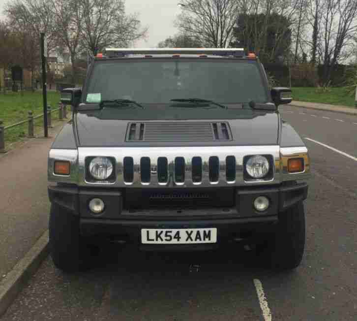 HUMMER H2 2005 LHD BLACK BRC LPG CONVERSION LOW MILEAGE P X SWAP OFFERS WELCOME