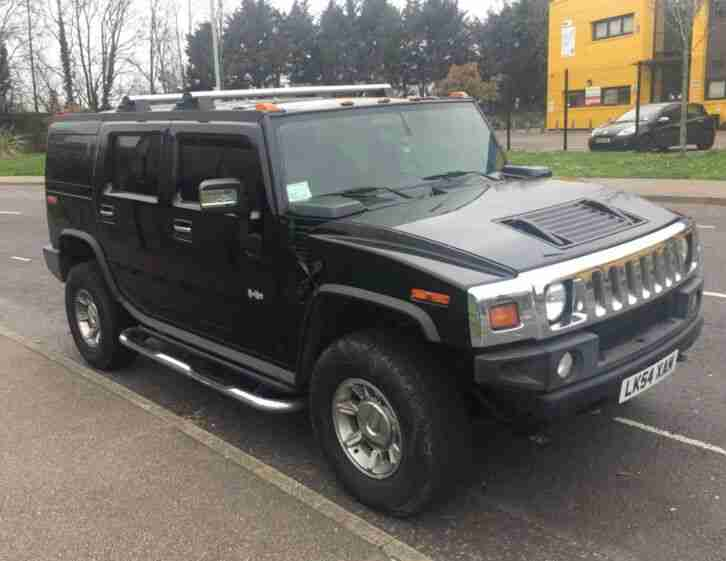 HUMMER H2 2005 LHD BLACK BRC LPG CONVERSION LOW MILEAGE P/X SWAP OFFERS WELCOME