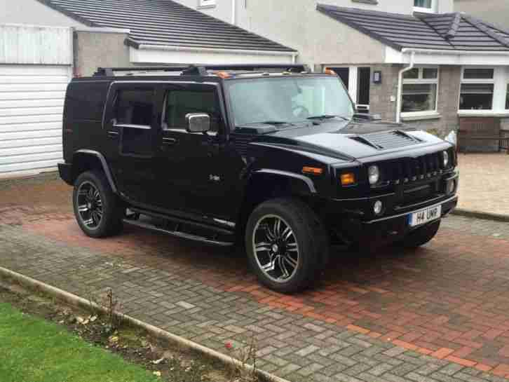 hummer h2 black 2003 75k miles car for sale. Black Bedroom Furniture Sets. Home Design Ideas
