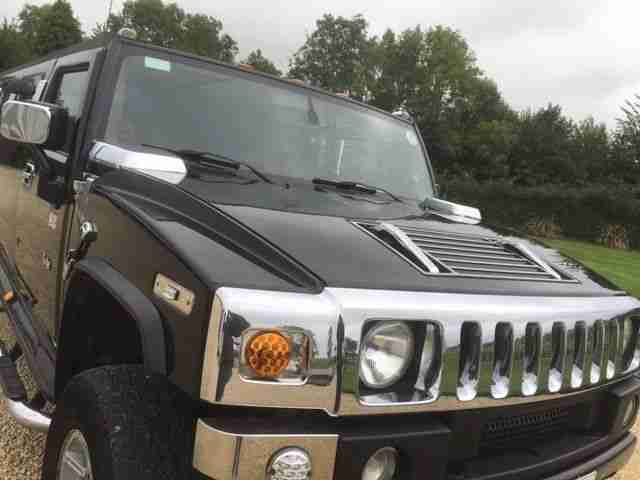 HUMMER H2 LIMOUSINE LIMO 16 SEATER COIF IN BLACK LPG